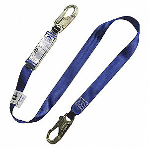 HARNESS WEB POLYESTER SHK ABS 4FT