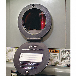 Round Infrared Window,95mm dia,Type 3/12