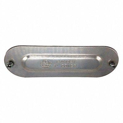 11Y593 - Conduit Body Cover 1 in Diecast Aluminum