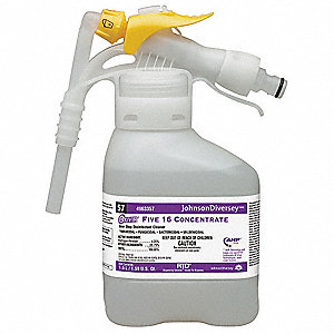 1.5L Cleaner and Disinfectant, 2 PK