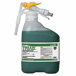 Triad III Disinfectant Cleaner,5L,Mint