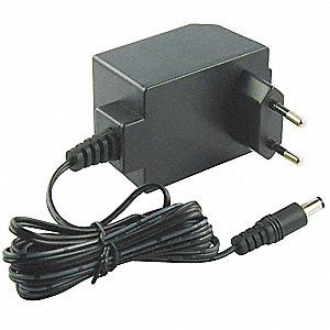 230VAC Wall Mount, European Plug Plug-In Charger, 6VDC, 1000mA, 50Hz