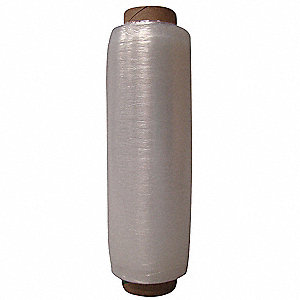 "Stretch Wrap, Hand Dispensed, 1-Side Cling, Prestretched, 15-1/2"" x 2000 ft., Gauge: 35, Clear"
