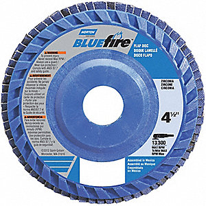 FLAP DISC 7X7/8 IN T27 HDBLUFIRE 40