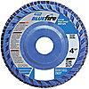 FLP DISC 5X7/8 60 GRT T27 BLU FIRE