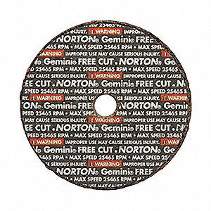 WHEEL 2X1/8X3/8 GEMINI FREE CUT T01