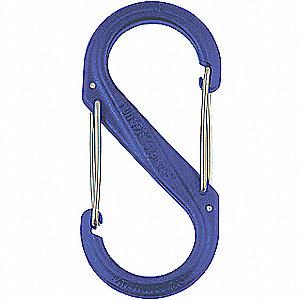S-BINER PLASTIC SIZE #4 / BLUE