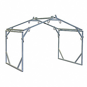FRAME TENT 8X8X5 WALL 7FT6IN PEAK