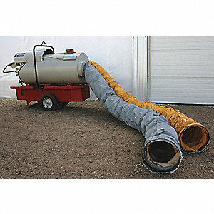 HEATER DUCT 12INX12FT HI TMP 16.5OZ