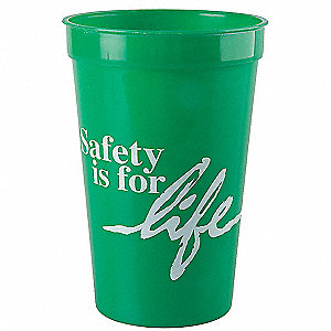 STADIUM CUP, SAFETY IS FOR LIFE,PK10