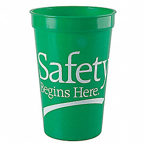 Stadium Cup, Safety Begins Here,PK10