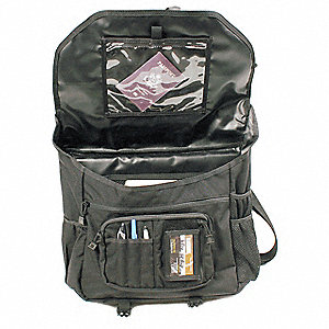 Tactical Briefcase,Black,Nylon