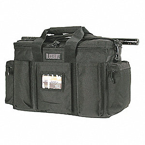 Police Equipment Bag,Black,Nylon