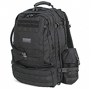 "Black Hydration Pack, 100 oz./3L Capacity, Depth 9"", Length 20"", Width 22"""