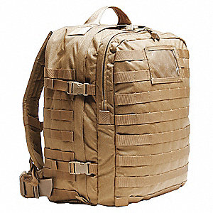 Medical Back Pack,18 x 13 x 7-1/2 In