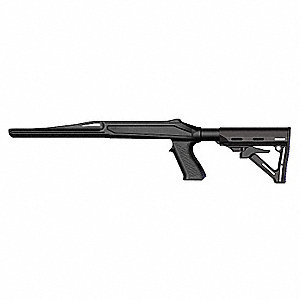 Axiom R/F Stock,Black,Ruger 10/22
