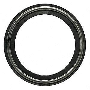 "Tri-Clamp Sanitary Gasket, 3.843"" Inside Dia., 4.685"" Outside Dia., EPDM X-Rayable/Metal Detectable,"