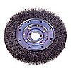 BRUSH WHEEL WIRE MED FACE 6IN