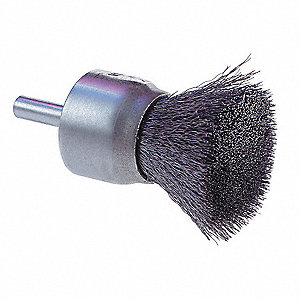 BRUSH END SOLID FACE 1IN .0104