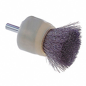 BRUSH END SOLID FACE 1/2IN W/C