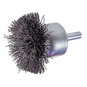 BRUSH CIRCULAR END 1-1/2IN
