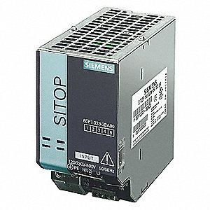 DC Power Supply,24VDC,5A,50/60Hz