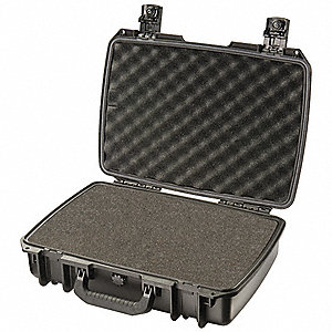"Injection Molded HPX® High Performance Resin Laptop Case with Foam Insert for 17"" Laptops, Black"