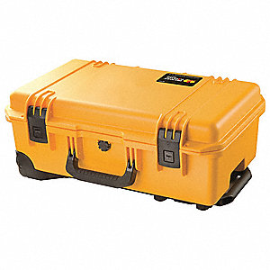 Case,21-3/4 In Lx14 In Wx9 In D,Yellow