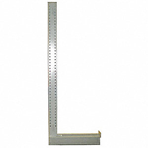 "Steel Upright, Arm Length: 14"", Number of Sides: 1"