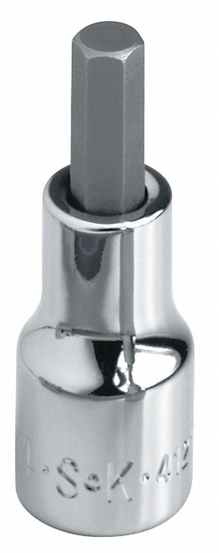 SK Hand Tools Bit Skt Chrm 3//8Dr Hex 8mm 41407