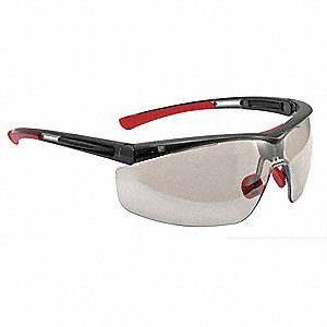 Adaptec  Anti-Fog, Anti-Static, Scratch-Resistant Safety Glasses, Indoor/Outdoor Mirror Lens Color