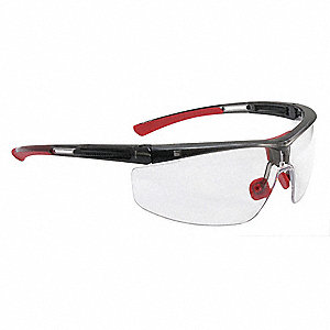 Adaptec  Anti-Fog, Anti-Static, Scratch-Resistant Safety Glasses, Clear Lens Color
