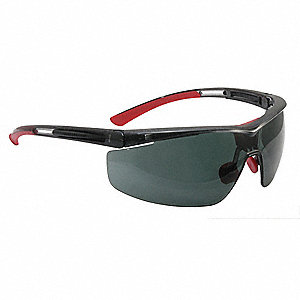 North Adaptec® Anti-Fog, Anti-Static, Scratch-Resistant Safety Glasses, Smoke Lens Color