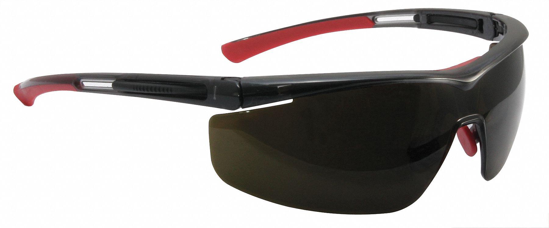 Zenni Optical Safety Glasses : Half Frame - USA