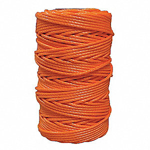 "Polyethylene Arborist Throw Line, 5/64"" Rope Dia., 180 ft. Length, Safety Orange"