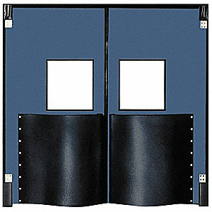 Swinging Door,7 x 5 ft,Cadet Blue,PR