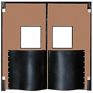 Swinging Door,8 x 5 ft,Medium Brown,PR