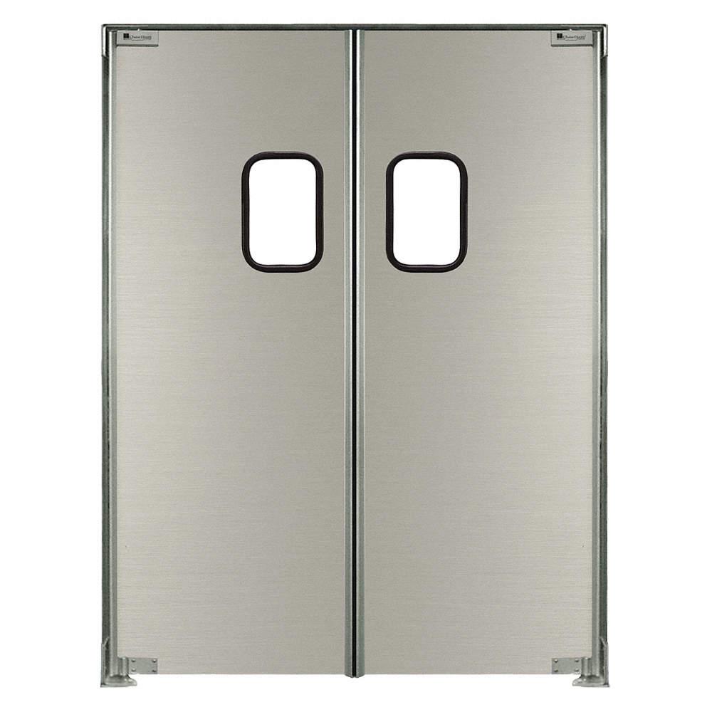 Double Swinging Doors Chase Swinging Door7 X 6 Ftaluminumpr 12a740 Sd20007284