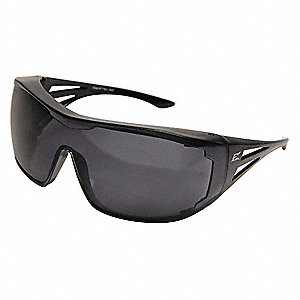Ossa Scratch-Resistant Safety Glasses, Smoke Lens Color