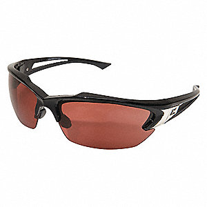 Scratch-Resistant Polarized Safety Eyewear, Copper Lens Color