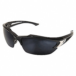Khor Scratch-Resistant Polarized Safety Eyewear, G-15 Silver Mirror Lens Color