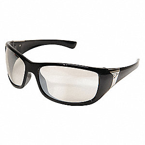 Civetta Scratch-Resistant Safety Glasses, Gray Lens Color