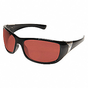 Civetta Scratch-Resistant Safety Glasses, Copper Lens Color