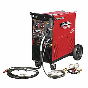 Multiprocess Welder, Power MIG Series, Input Voltage: 208/230/460/575/1/60, MIG, Pulsed, Flux-Cored,