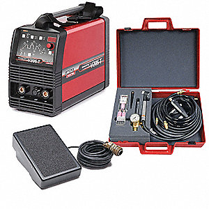 TIG Welder, Invertec(R) V205-T Series, Welder Max. Output Amps: 200, Welder Industrial Class: Light
