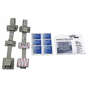 HPLC 3-Stack Fastener Kit,Gray