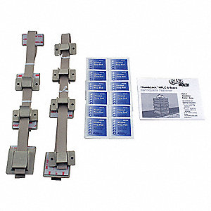 HPLC 6-Stack Fastener Kit,Gray