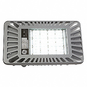 5400 Lumens LED Floodlight, Gray