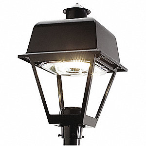 Led post top fixtures outdoor fixtures grainger industrial supply led post top86w4350l mozeypictures Choice Image