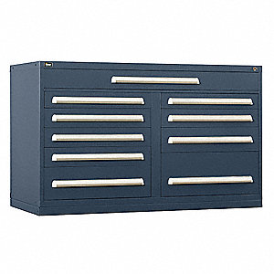 "Modular Drawer Cabinet, 37"" Overall Height, 60"" Overall Width, 27-3/4"" Overall Depth"
